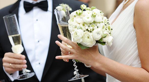 Δεξιώσεις γάμου